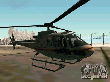 Bo 105 EMERCOM de Rusia para la visión correcta GTA San Andreas