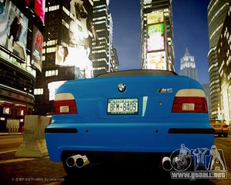 BMW M5 E39 para GTA 4 visión correcta