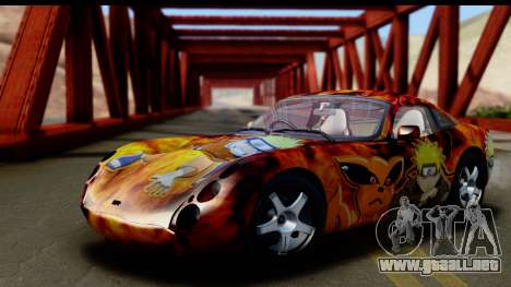 TVR Tuscan S 2001 para vista inferior GTA San Andreas