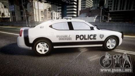 Dodge Charger 2006 Sheriff Dukes [ELS] para GTA 4 left