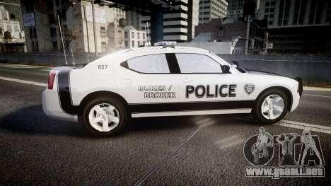 Dodge Charger 2006 Sheriff Dukes [ELS] para GTA 4 left