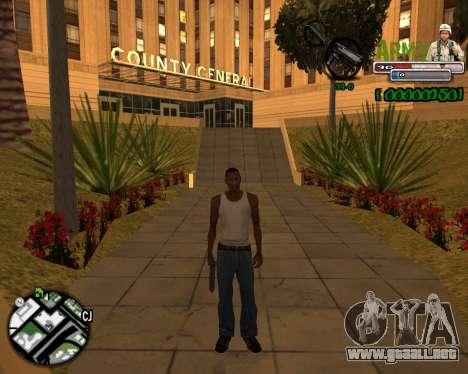 C-HUD Army para GTA San Andreas