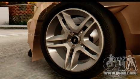 Ford Shelby GT500 RocketBunny para la visión correcta GTA San Andreas