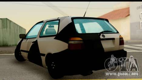 Volkswagen Golf 3 para GTA San Andreas left