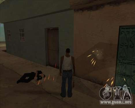 Configuración De Ragdoll para GTA San Andreas sucesivamente de pantalla