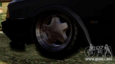 Tofas Dogan SLX para GTA San Andreas vista posterior izquierda