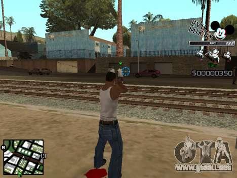 C-HUD Evil Mickey para GTA San Andreas