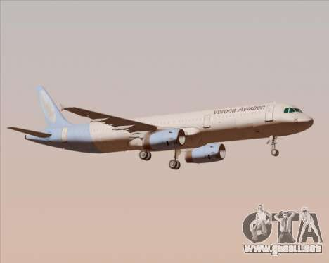 Airbus A321-200 Vorona Aviation para GTA San Andreas