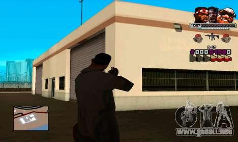 C-HUD Will para GTA San Andreas