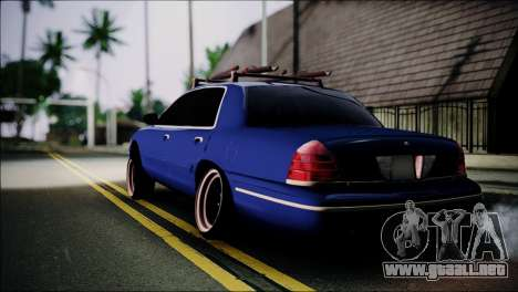 Ford Crown Victoria Stance Nation para GTA San Andreas left