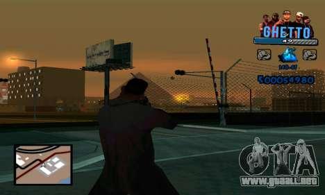 C-HUD Gangster para GTA San Andreas tercera pantalla