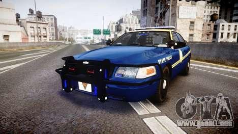 Ford Crown Victoria Virginia State Police [ELS] para GTA 4