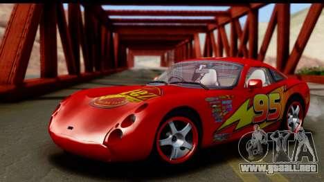 TVR Tuscan S 2001 para visión interna GTA San Andreas