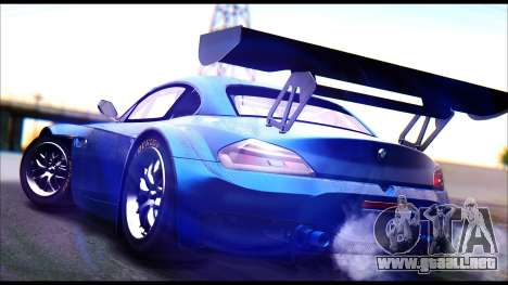 BMW Z4 GT3 para GTA San Andreas left