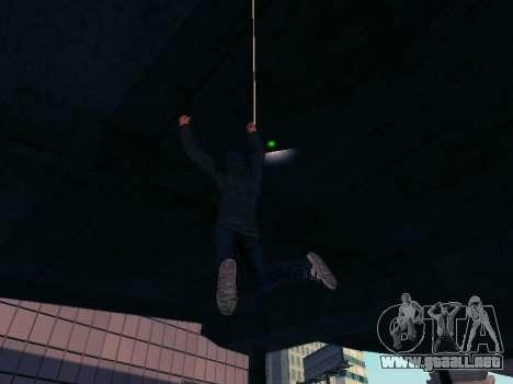 Spiderman Swinging v2.1 para GTA San Andreas sucesivamente de pantalla