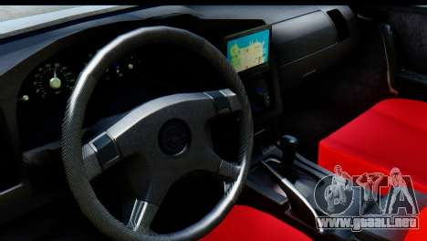 Opel Combo Delta Garage para GTA San Andreas vista hacia atrás