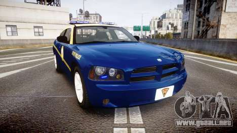 Dodge Charger West Virginia State Police [ELS] para GTA 4