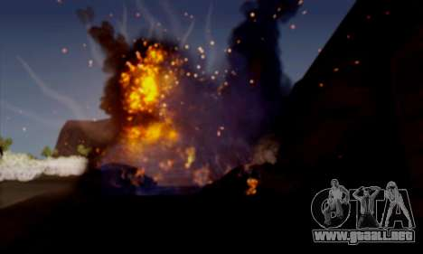 GTA 5 Effects para GTA San Andreas sucesivamente de pantalla