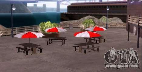 ENB para equipos débiles para GTA San Andreas sexta pantalla