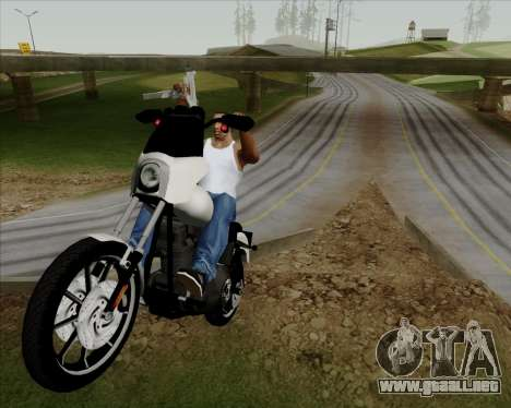 Harley-Davidson FXD Super Glide T-Sport 1999 para visión interna GTA San Andreas