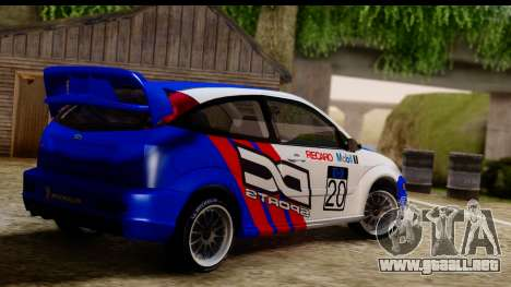 Ford Focus para GTA San Andreas left