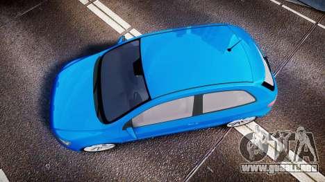 Volkswagen Gol G6 iTrend 2014 rims2 para GTA 4 visión correcta