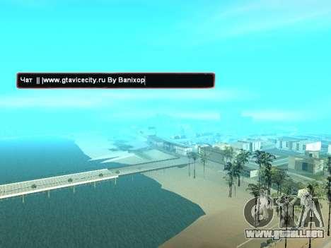 SampGUI atmósfera de Navidad para GTA San Andreas