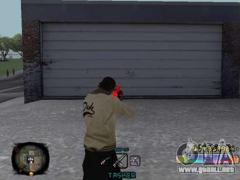 C-HUD Color Tasher para GTA San Andreas tercera pantalla