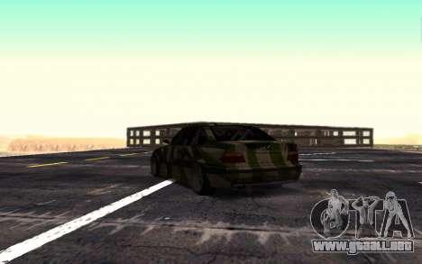 BMW M3 E36 Hunter para la visión correcta GTA San Andreas