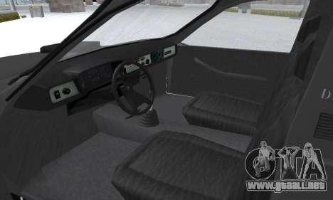 Dacia 1305 Papuc Pick-Up Drop Side 1.9D para la vista superior GTA San Andreas