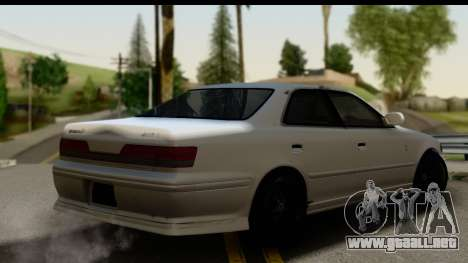 Toyota Mark 2 Sport para GTA San Andreas left