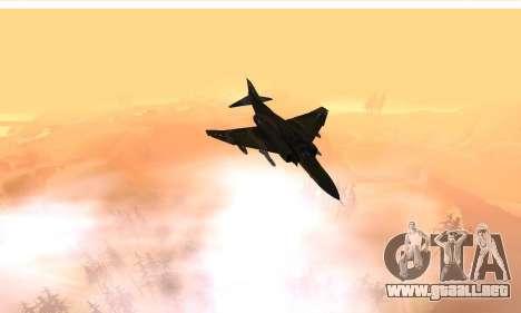 F-4 Vietnam War Camo para visión interna GTA San Andreas