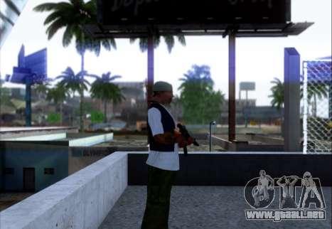 Akmn con CBE para GTA San Andreas segunda pantalla