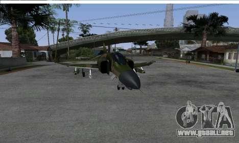 F-4 Vietnam War Camo para la visión correcta GTA San Andreas