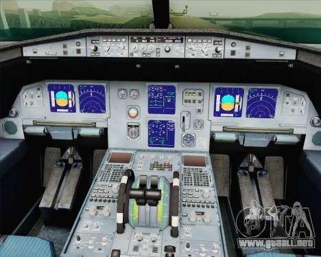 Airbus A321-200 Vorona Aviation para la visión correcta GTA San Andreas