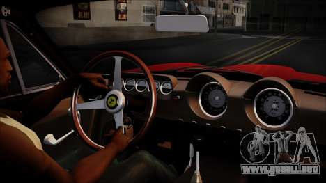Ferrari 250 GT Berlinetta Lusso 1963 [ImVehFt] para la visión correcta GTA San Andreas