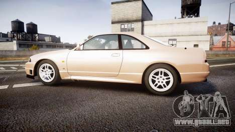 Nissan Skyline R33 GT-R V.spec 1995 para GTA 4 left