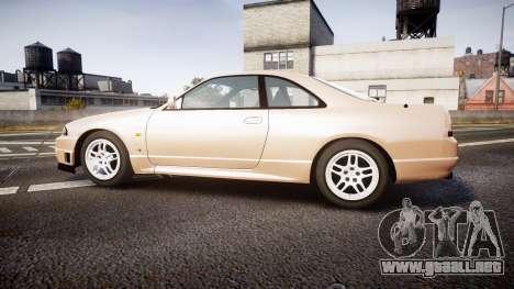 Nissan Skyline R33 GT-R V.spec 1995 para GTA 4 left