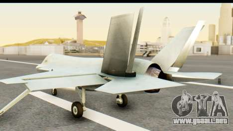 F-35B Lightning II Hatsune Miku Version para GTA San Andreas left