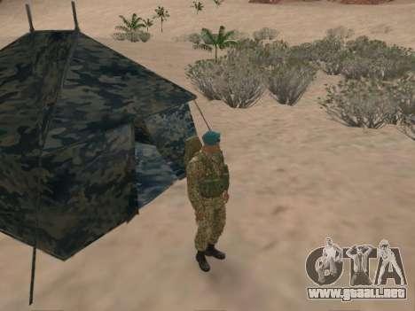 Granadero de las tropas aerotransportadas de la para GTA San Andreas séptima pantalla