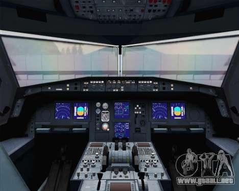 Airbus A330-300 SAS Star Alliance Livery para la visión correcta GTA San Andreas