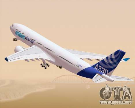 Airbus A330-200 Airbus S A S Livery para GTA San Andreas left