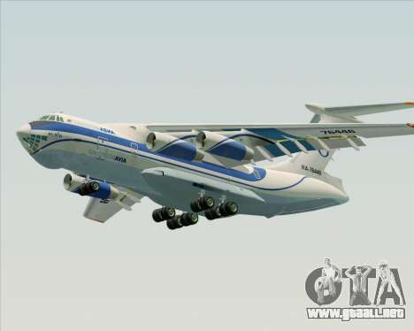 IL-76TD Gazprom Avia para el motor de GTA San Andreas