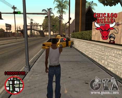 C-HUD by Mefisto para GTA San Andreas segunda pantalla