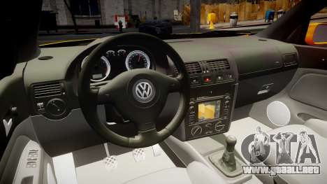 Volkswagen Golf Mk4 Variant para GTA 4 vista hacia atrás