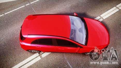 Mersedes-Benz A45 AMG para GTA 4 visión correcta