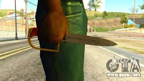 Antique Cavalry Dagger from GTA 5 para GTA San Andreas tercera pantalla