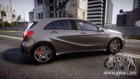 Mersedes-Benz A45 AMG PJs5 para GTA 4 left
