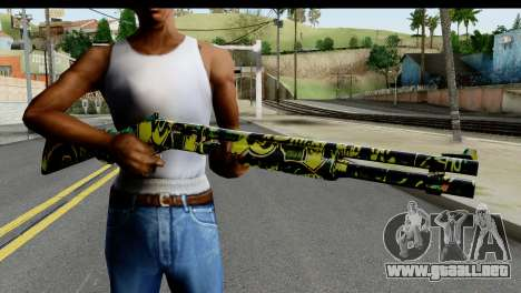 Grafiti Shotgun para GTA San Andreas tercera pantalla