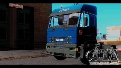 Iveco Eurotech (No Snow) para la visión correcta GTA San Andreas